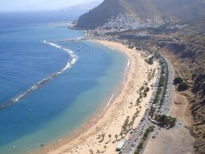Playa de Las Teresitas en Santa Cruz - Tenerife