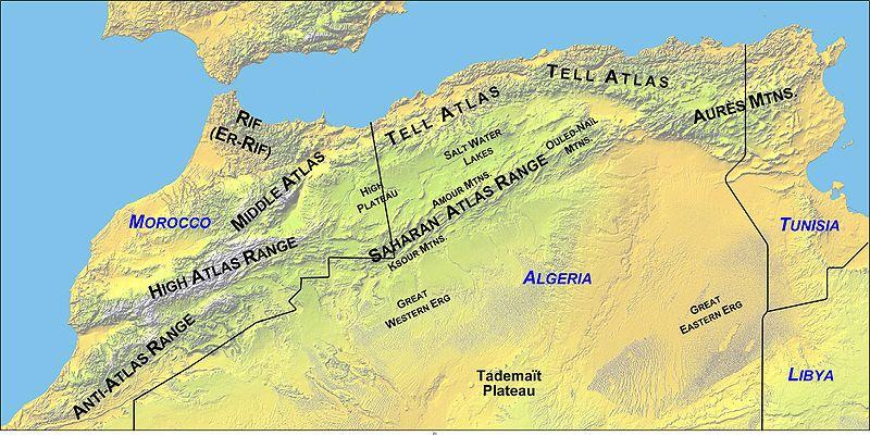 Cartina Geografica Fisica Del Marocco.Clima Marocco Il Clima