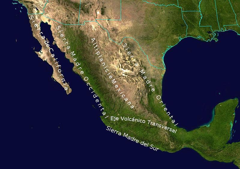 Clima del messico il clima - Mappa messico mappa da colorare pagina ...